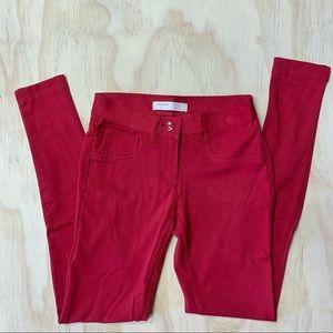 No boundaries Red Super soft skinny jeans
